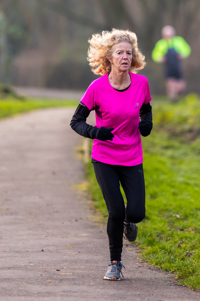 Andover Parkrun New Years Day