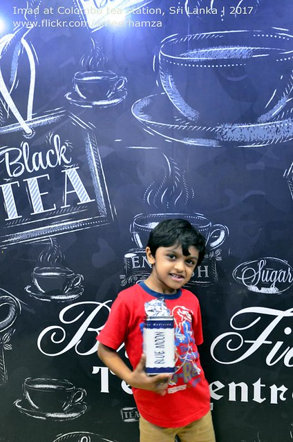 Imad in a Tea Station, Colombo