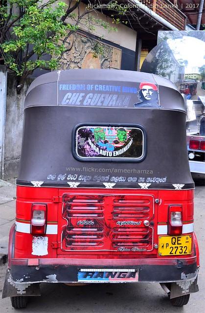 Rickshaw of Colombo, Sri Lanka