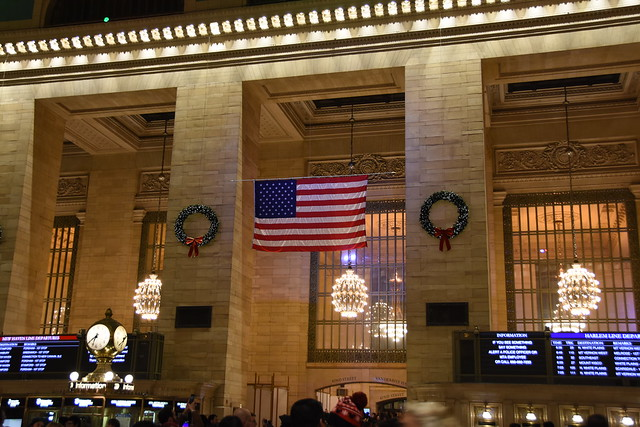 Picture Taken Inside Grand Central Terminal In New York City. Photo Taken Friday December 27, 2019