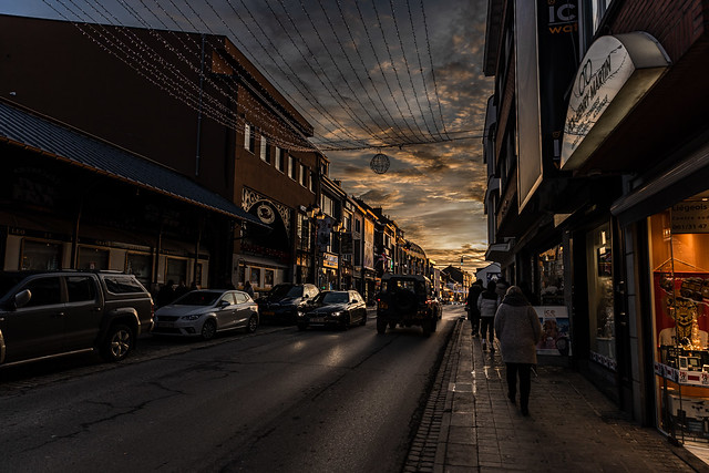 Light at the end of the street