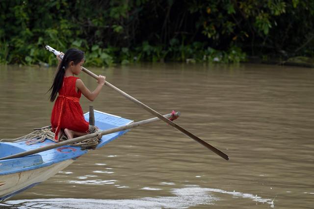 Mascarón de proa, Camboya