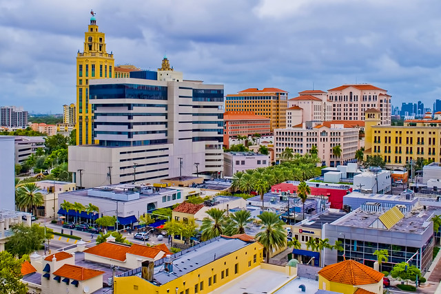 The city of Coral Gables, Miami-Dade County, Florida, USA