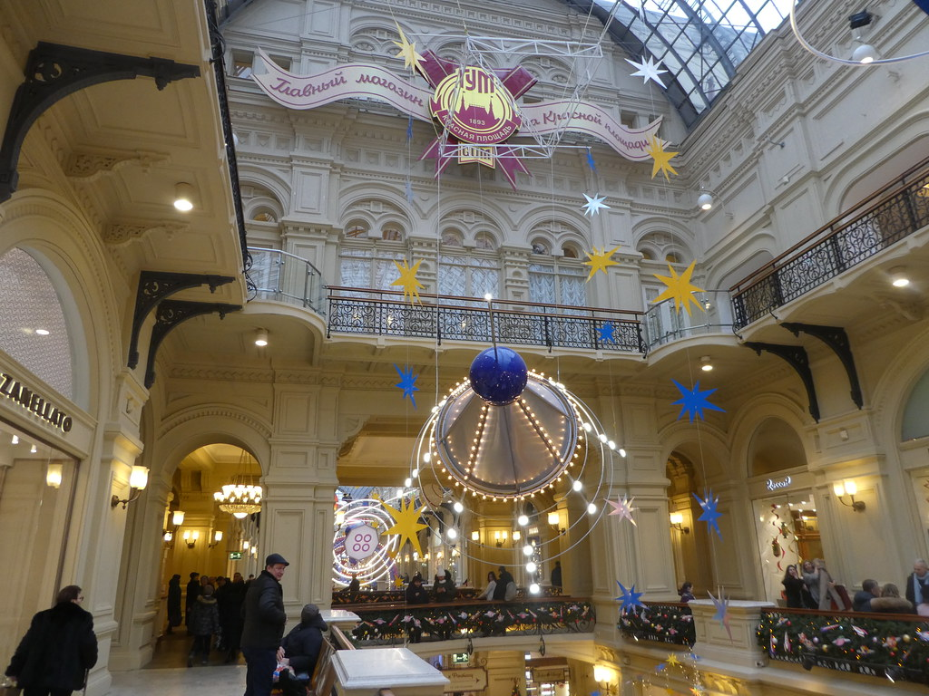 The GUM Department Store, Moscow