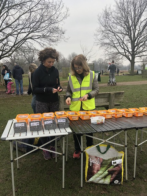 First-stage token sorting, in the field