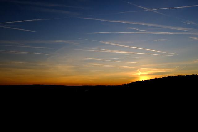 Sunset: Upper palatinate