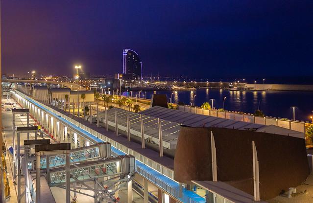 Barcelona Cruise Port - Barcelona, Spain, September 2019