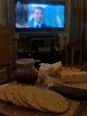 Cheese, Biscuits, Red Wine (off camera) and Mission: Impossible - Fallout