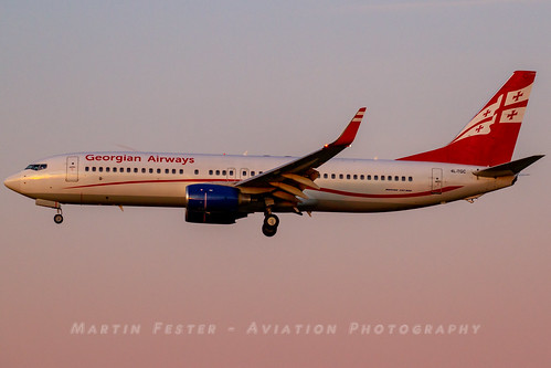 4L-TGC // Airzena Georgian Airways // Boeing 737-8FH(WL) | by Martin Fester - Aviation Photography