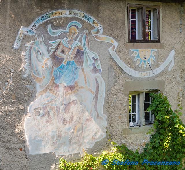 Fribourg, Chemin des Archives