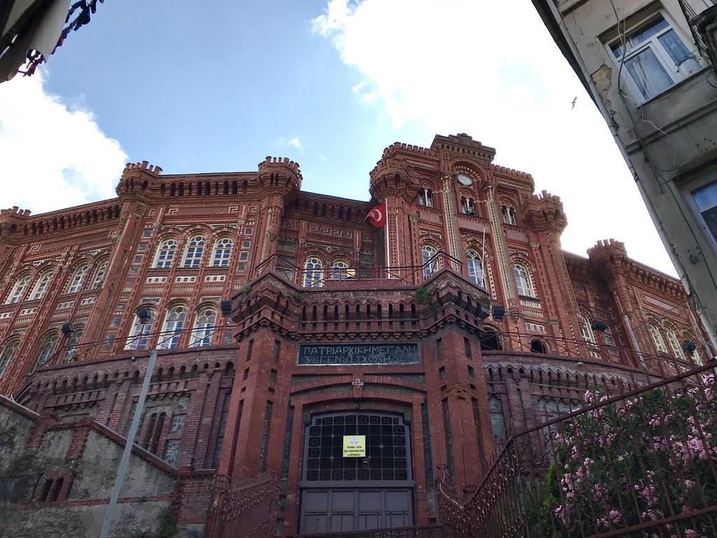 Balat-希臘東正教學校(紅城堡)