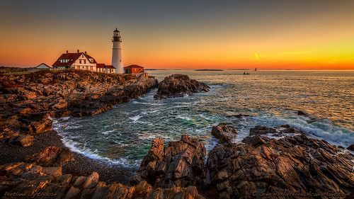 Portland Lighthouse, Maine