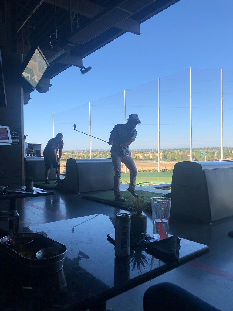 Company Event at Top Golf
