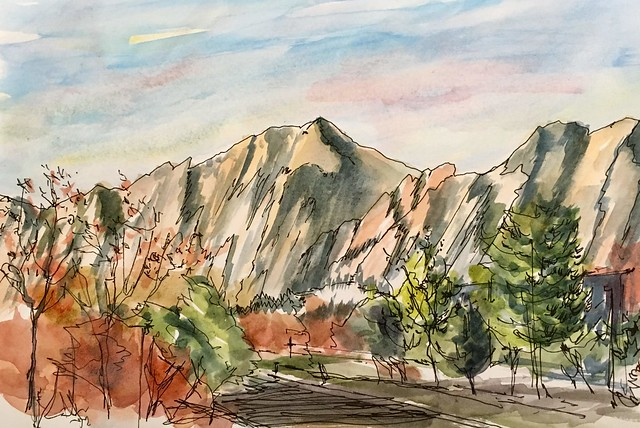 191105 Flatirons Boulder