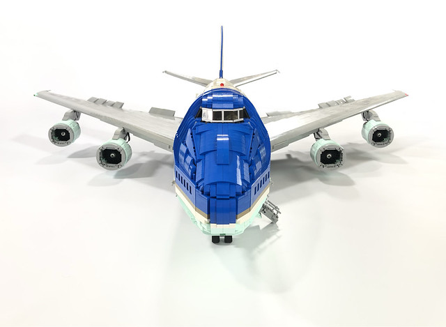 With A Full Interior This 6ft Long Lego Model Of Air Force
