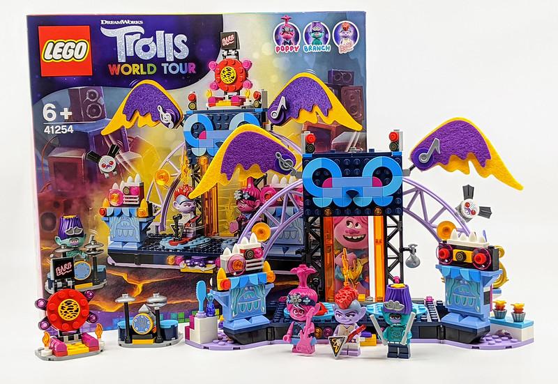 41254 Volcano Rock City Concert Trolls Set Review Bricksfanz