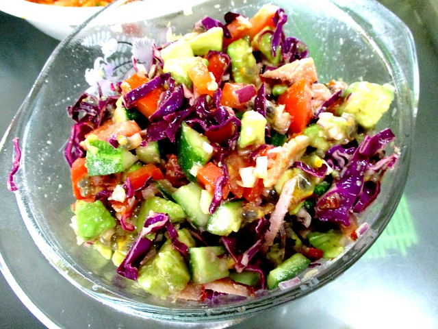 New Year dinner salad