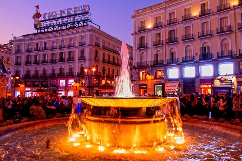 MADRID PUERTA DEL SOL 0340 7-12-2019