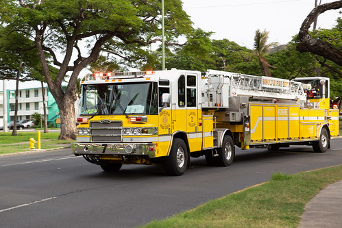 Honolulu Fire Truck
