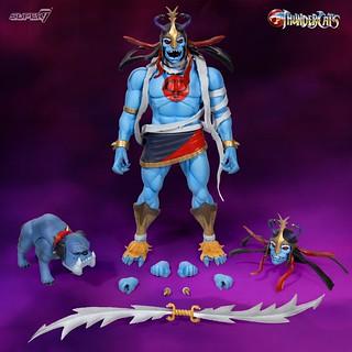 兇暴的木乃伊、帥氣的虎貓參戰~ Super7 ×《霹靂貓》可動人偶第二波四款角色公開! Thundercats Ultimate Figure Wave 2