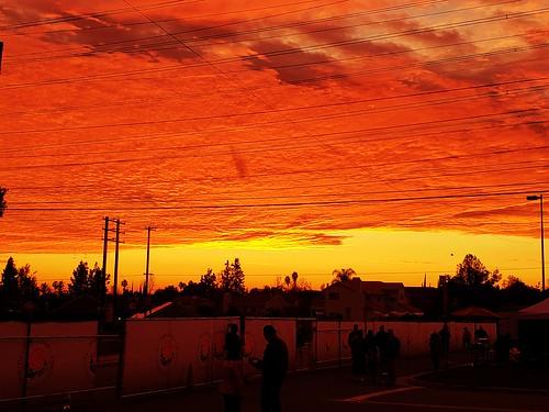 sunset nature california pasadena usa zajdowicz availablelight snapseed cellphone