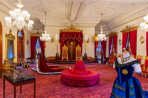 Throne Room at Iolani Palace