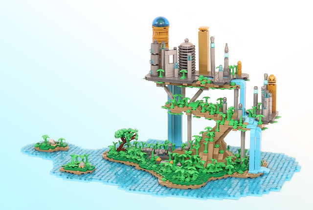 Imaginary islands, real LEGO bricks