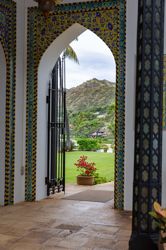 Doorway at Shangri La