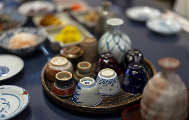 Sake set / 酒器