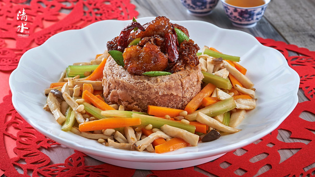CNY2020_Yam Basket with 'Kong Poh' Hericium 佛钵飘香@21-1