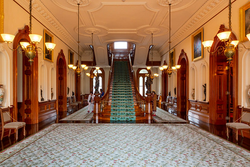 Grand Staircase at Iolani Palace