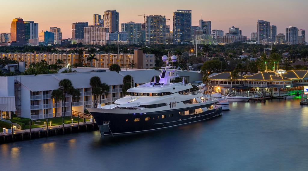 Super Yacht Felix in Fort Lauderdale