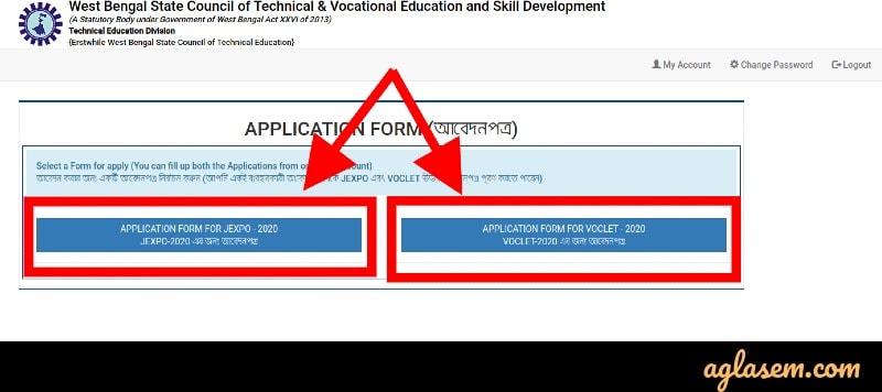 JEXPO VOCLET application
