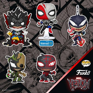 共生體威能全開,更多角色猛毒化參戰! Funko Pop! Marvel【猛毒系列】Venom Series