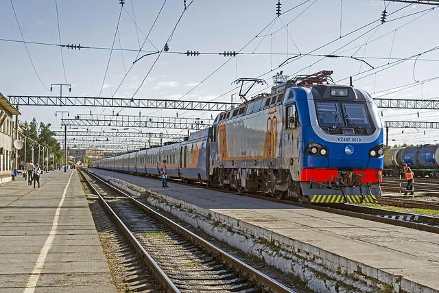 KTZ Talgo train