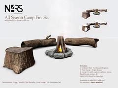 N4RS All Season Camp Fire Set
