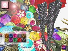 !cream spaghetti hair! Mochibana Basic Color Tights AD