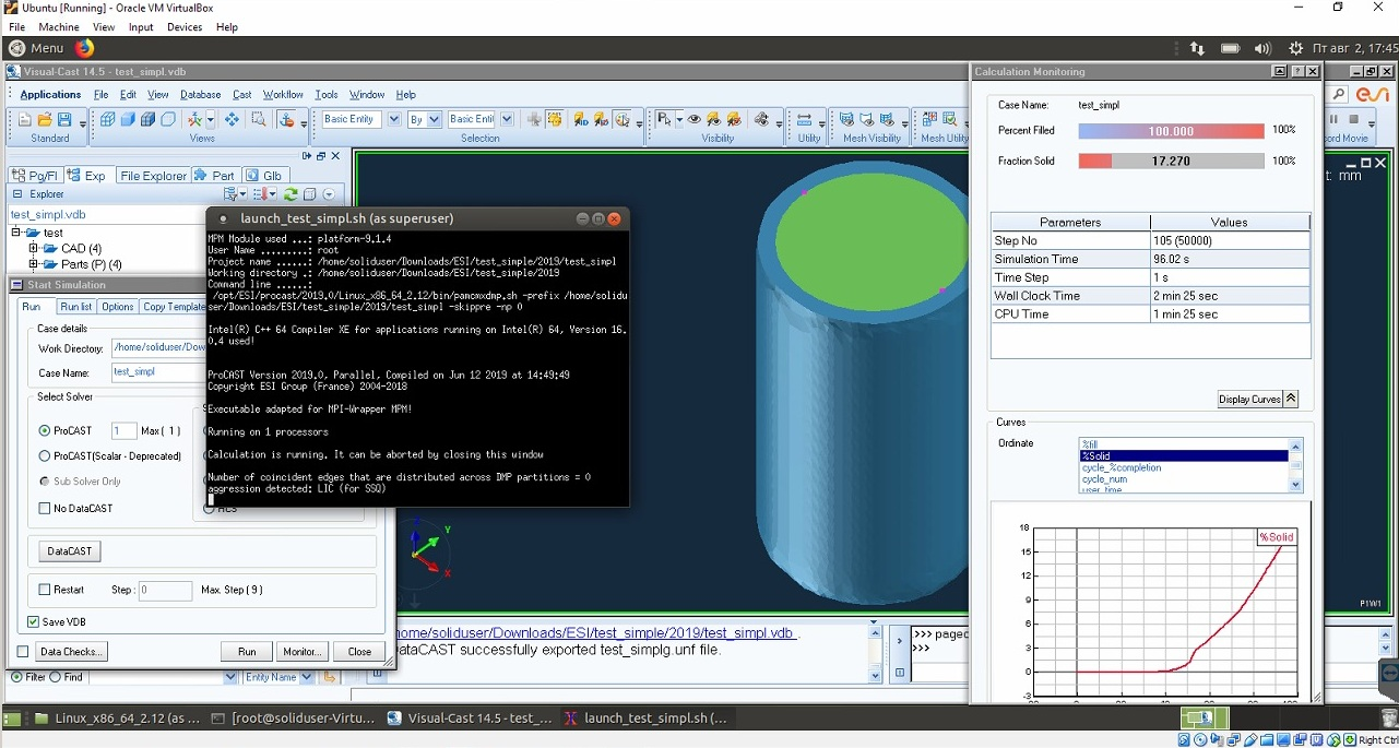 Working with VisualCAST 14.5 full license