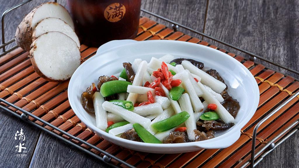 CNY2020_Stir Fried Black Fungus W Chinese Yam 云耳快炒山药@43-1