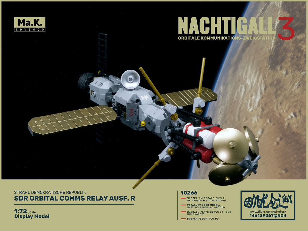 """OKZ Nachtigall"" orbital comms relay"