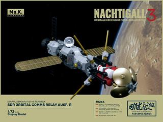 """""""OKZ Nachtigall"""" orbital comms relay"""