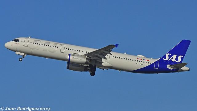 OY-KBH -  SAS Scandinavian Airlines - Airbus A321-232 - PMI/LEPA