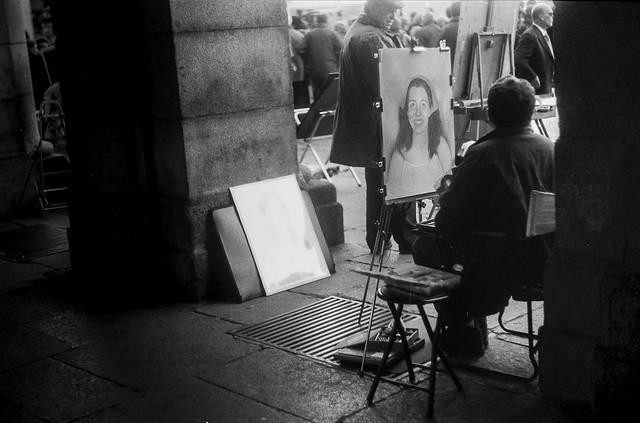Plaza Mayor, Madrid.