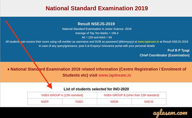 NSEA, NSEP, NSEJS, NSEC, NSEB Result 2019-2020: Check Here