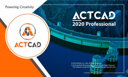 ActCAD Professional 2020 v9.2.270 x64 full license