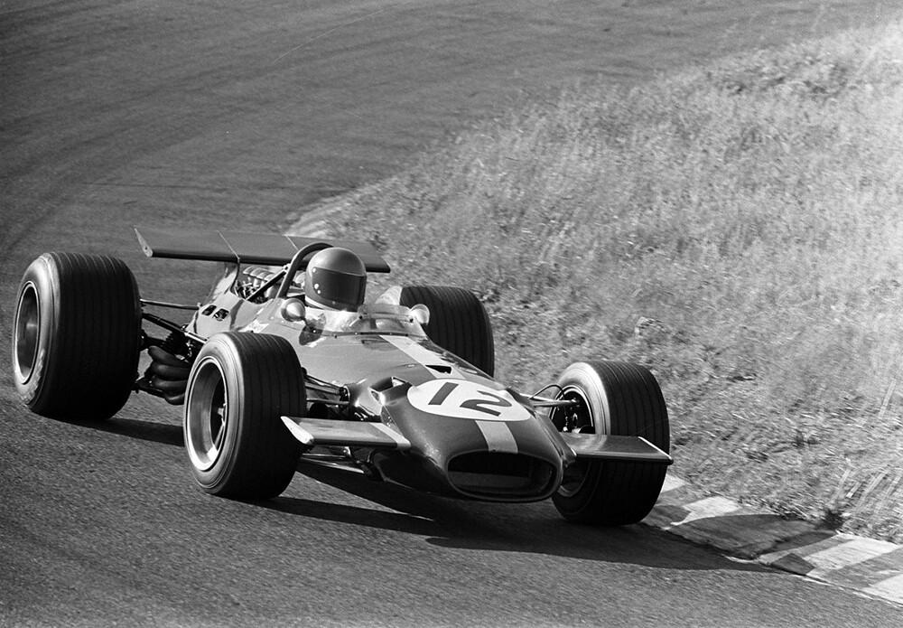 1969 brabham_bt26a_1969 Dutch Grand Prix  Circuit Zandvoort