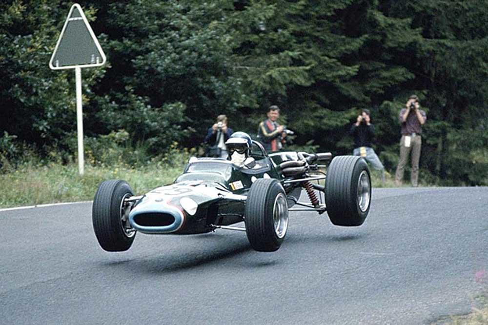 1967 - Jacky Ickx - Matra MS5 F2 - Nurburgring