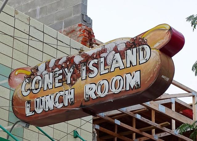 NE, Grand Island-Coney Island Lunch Room Neon Sign