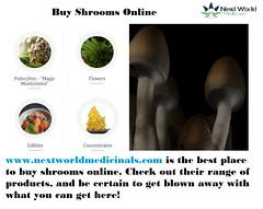 Buy Shrooms Online - nextworldmedicinals