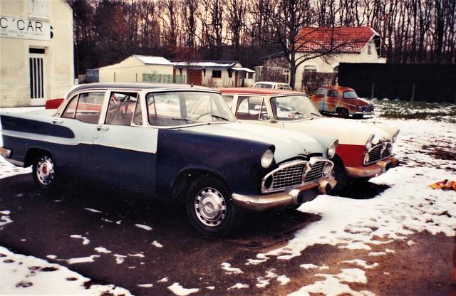 Simca Vedette Chambord Sorigny (37 Indre et Loire) Février 1991a